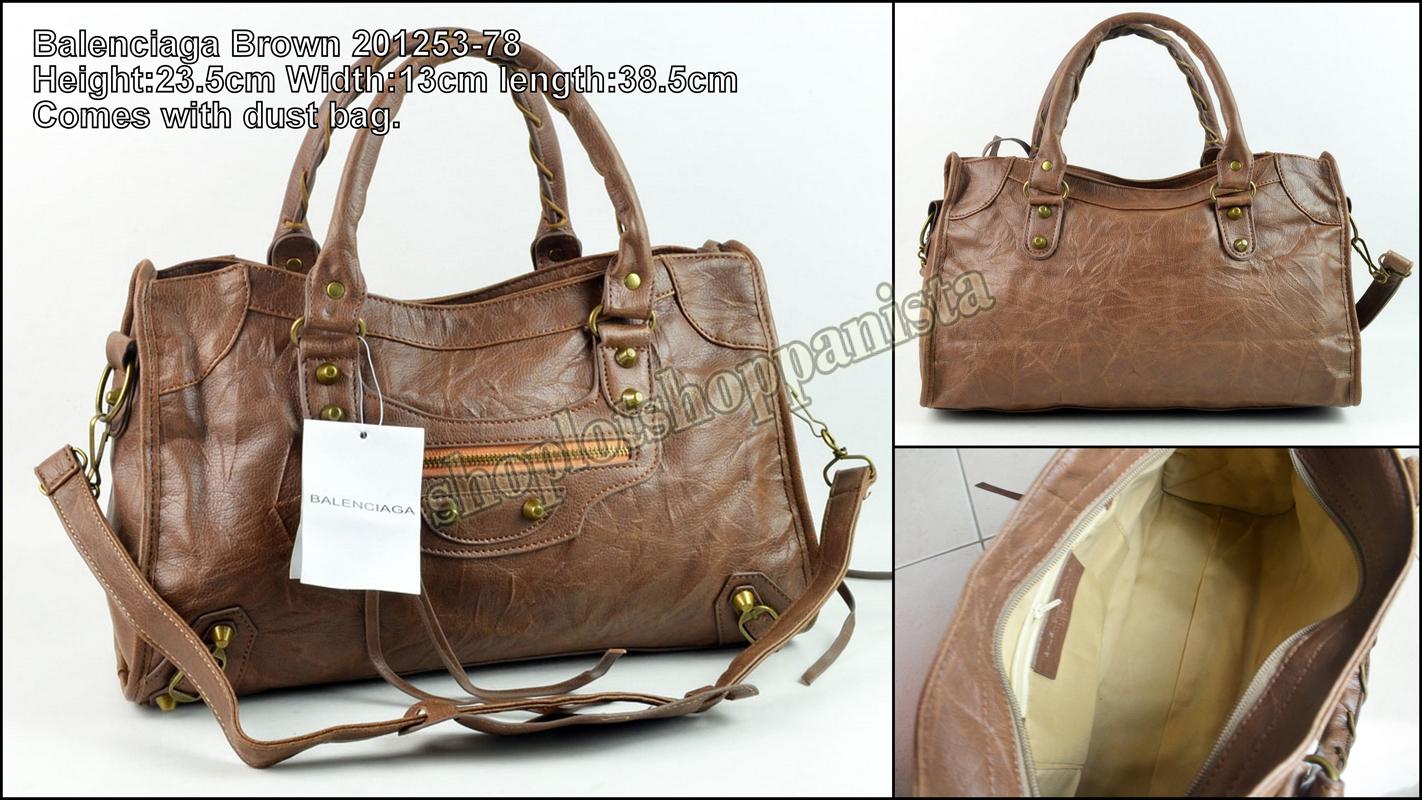 Balenciaga & Hermes Birkin Bag
