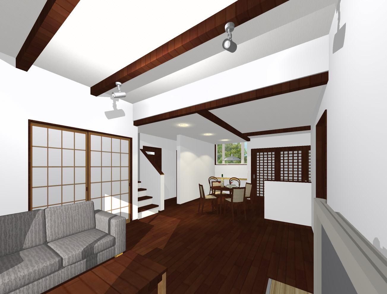 屋上緑化の家 三重県