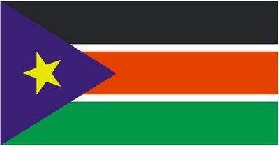 Bendera Rasmi Sudan Selatan