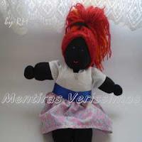 Maria Rita, a boneca sapeca.