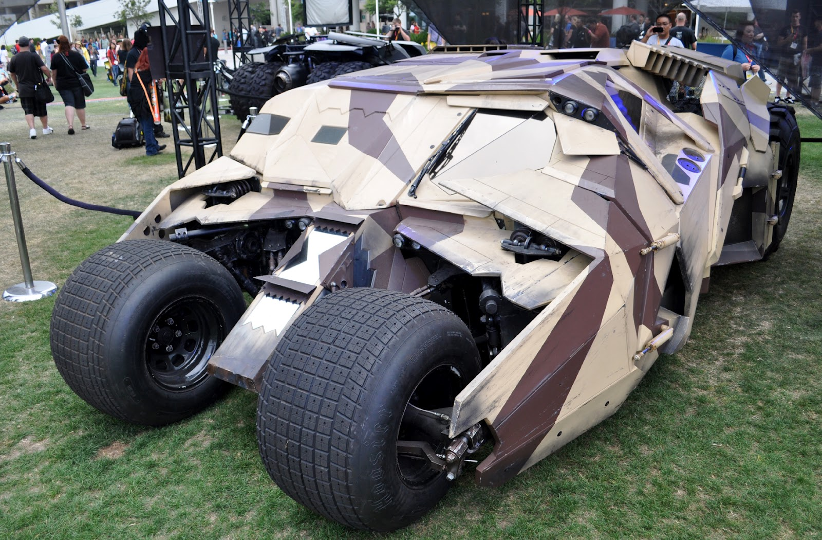 Just A Car Guy The Camouflage Tumblr Batman Vehicle At