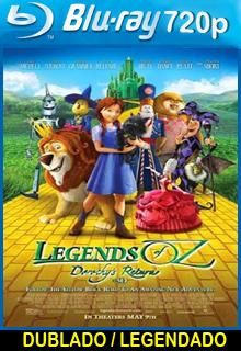 Assistir A Lenda de Oz Dublado ou Legendado 2015