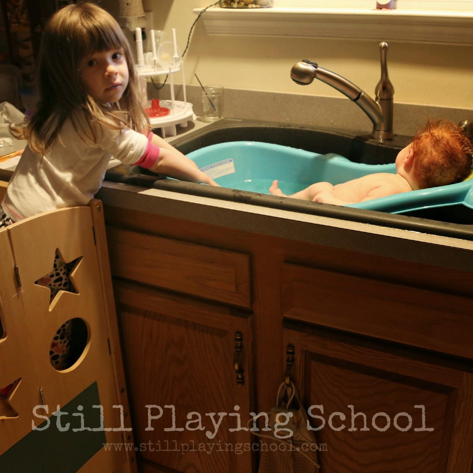guidecraft kitchen helper: a family investment | still playing school