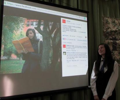 Participación alumna Danitza Lillo Belmar en Concurso Nacional Mi Libro Favorito de DIBAM