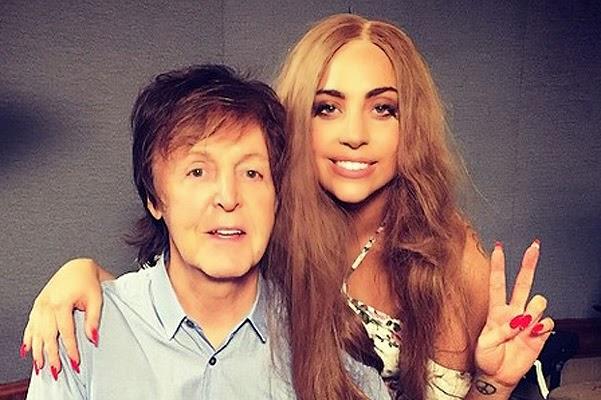 Lady Gaga and Paul McCartney - new duet?