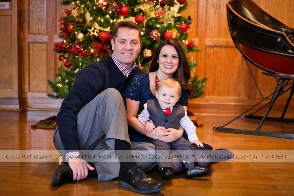 family and baby photos at Clabber Girl in downtown Terre Haute