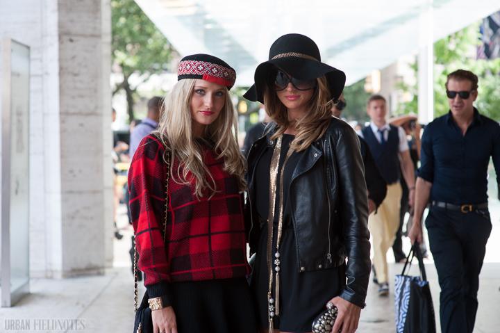 fashion week sleaze glamour
