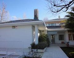 Casas en las afueras de Madrid, zona de chalets. Imagen aproximada para ilustrar un sueño