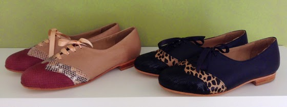 Zapatos chatos de Victoria Hache