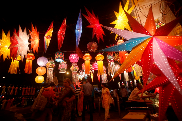 Delhi's perfect festive moods!