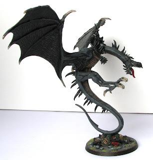 Król Nazguli na skrzydaltej bestii