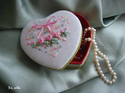 Гирлянда с сердечками своими руками
