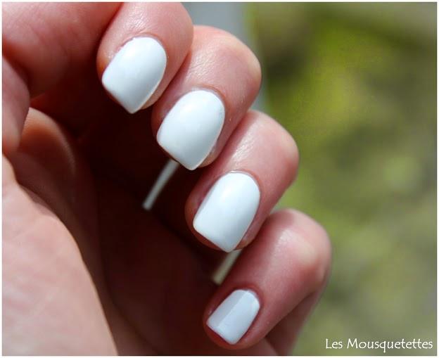 Vernis Blanc- Les Mousquetettes©