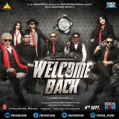 Welcome Back 2015 Hindi DVDScr 700mb New