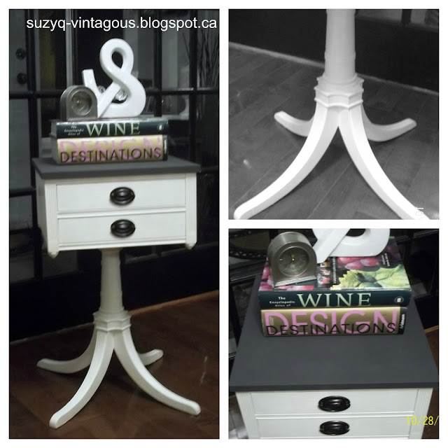 PicMonkey+Collage Painting furniture makeovers {Newbie with a twist party started}