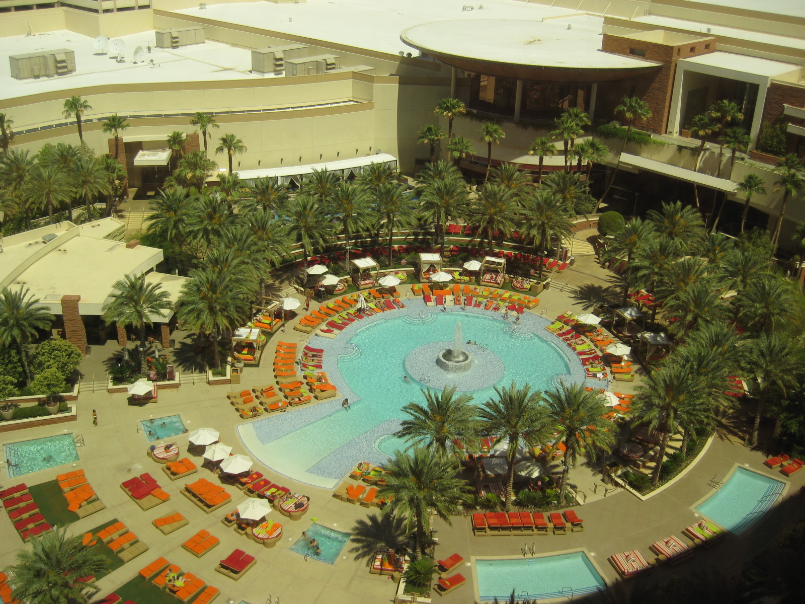 Red Rock Resort pool