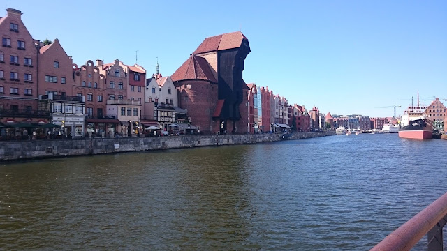 Old port crane of Gdansk