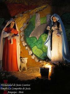 Diciembre - La Visita de María a Isabel - Templo Santo Domingo - II Semana de Adviento