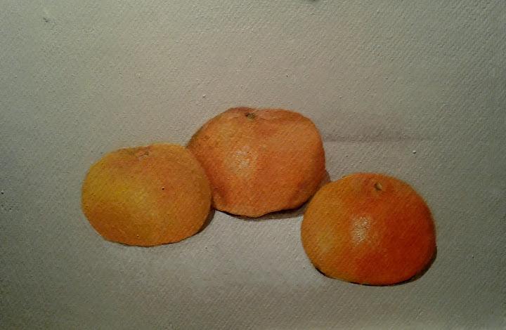 """Tres mandarinas"""