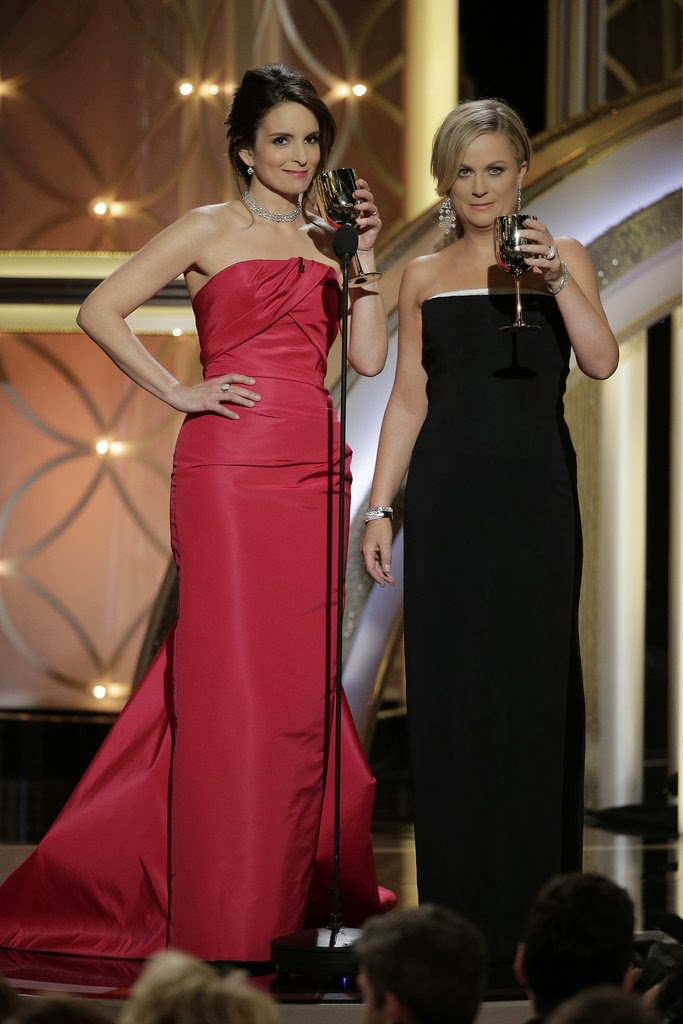 Tina Fey & Amy Poehler @ 2014 Golden Globe Awards