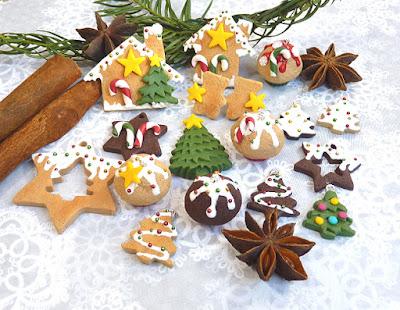 Zimowo-świąteczna kolekcja biżu :)