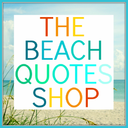 beach quotes art
