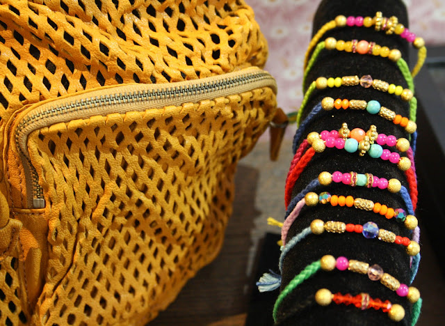 bracelets d'été colorés