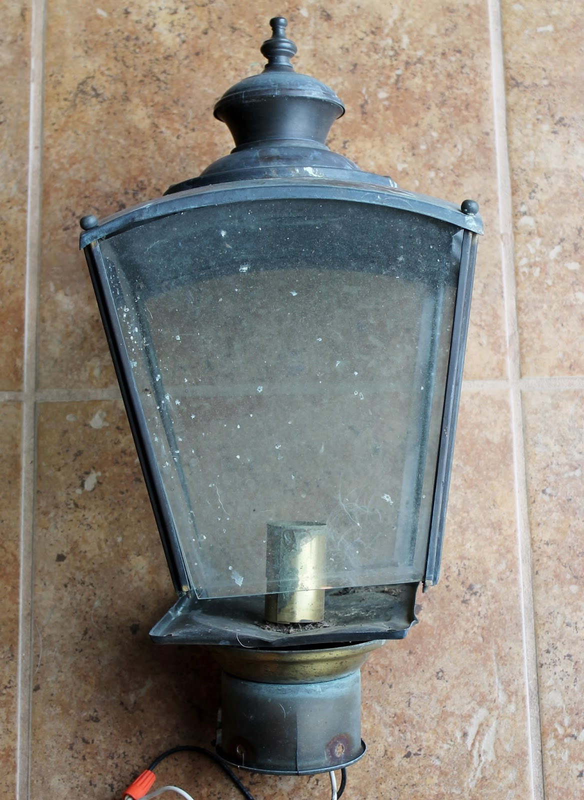 This weeks vintage finds 15 at habitat for humanity re store light fixture outdoor fixture lantern aloadofball Choice Image
