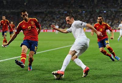 Prediksi Pertandingan Spanyol vs Prancis 17 Oktober 2012