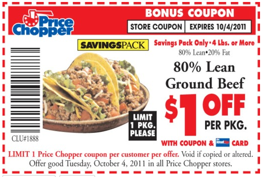Price chopper printable coupons
