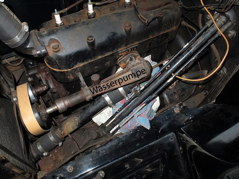 Ford Model T Touring 1923: Januar 2014