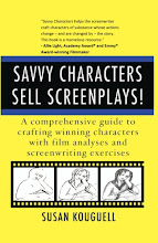 BUY MY NEW BOOK: SAVVY CHARACTERS SELL SCREENPLAYS!