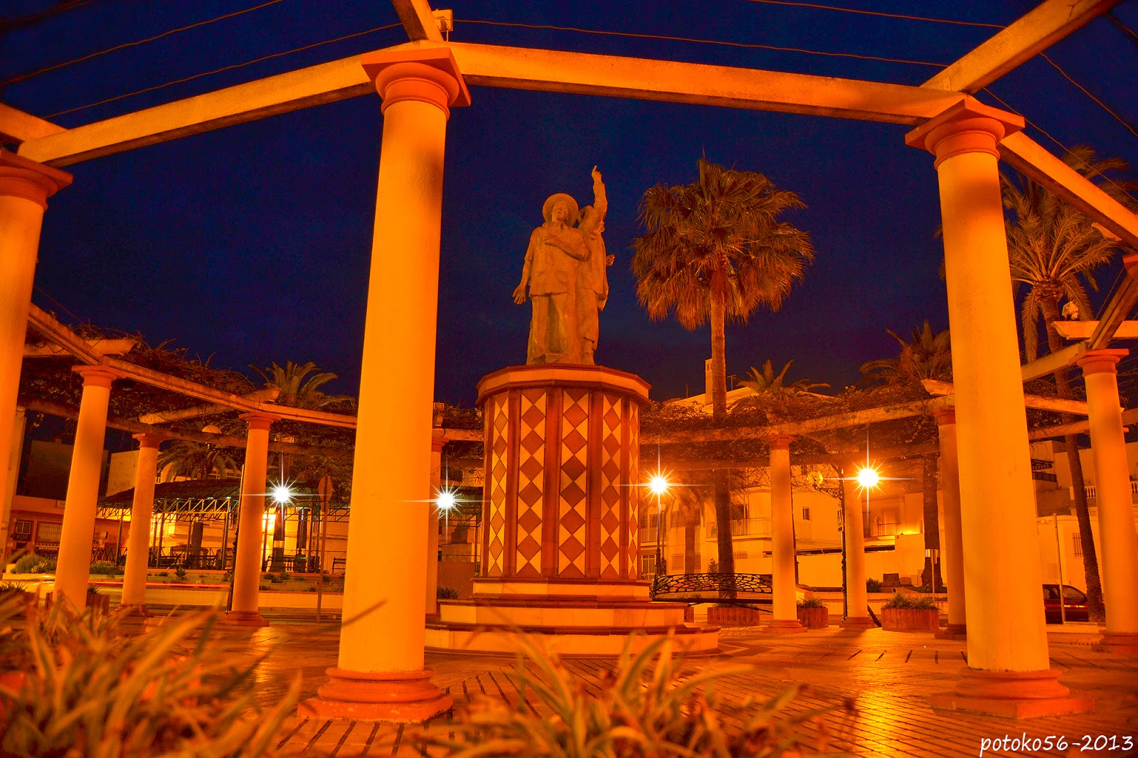 Monumento a Francisco Gutierrez (Guti) Rota