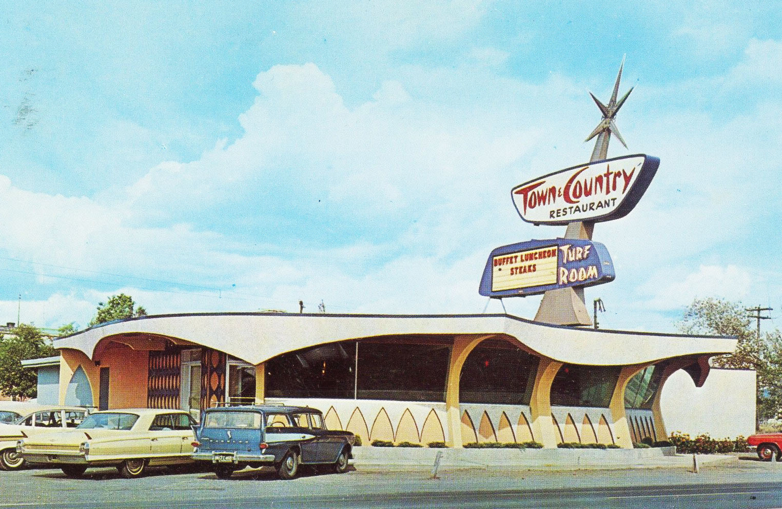 Vintage Spokane: Town & Country Restaurant