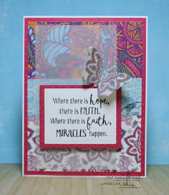 Our Daily Bread Designs Stamp sets: Boho Faith, Our Daily Bread Designs Paper Collection: Beautiful Boho, Our Daily Bread Designs Custom Dies: Fancy Fritillary