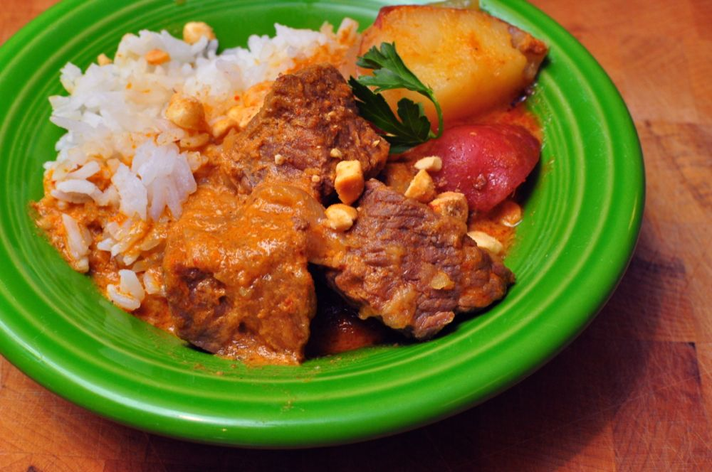 Pressure Cooker Massaman Beef Curry - Dad Cooks Dinner