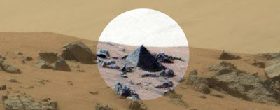 Giant Pyramid Found By NASA Rover On Mars, UFO Sightings