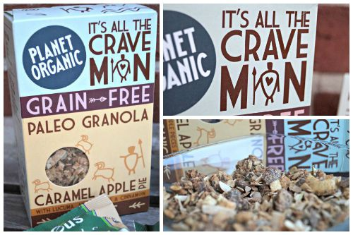Planet Orgnaic Caramel Apple Pie Müsli