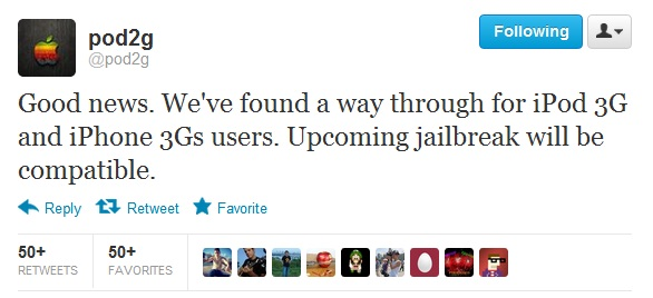 iOS 5.1.1 Untethered Jailbreak for iPhone 3GS and iPod 3G