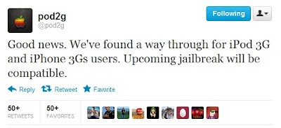 Jailbreak iOS 5.1.1 Untethered para iPhone 3G e 3G iPod