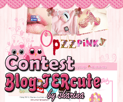 Pemenang Contest Blog Tercute part 1