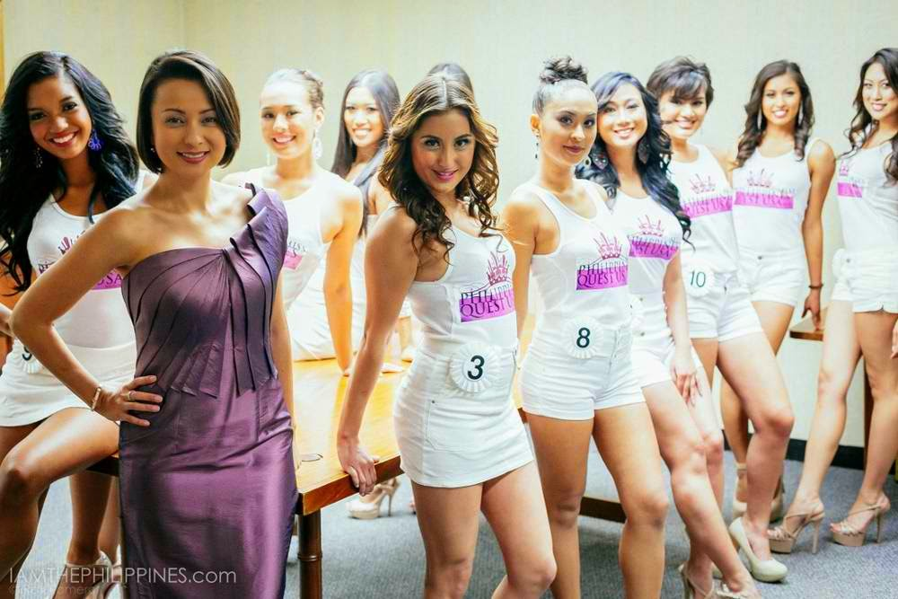 Official Candidates of Miss Philippines Quest USA 2014