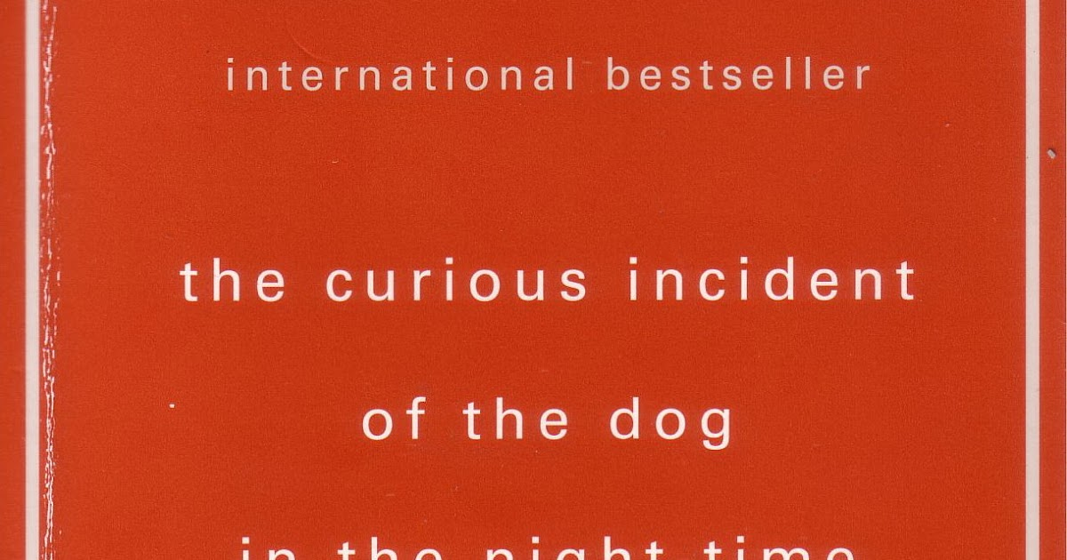 essay question curious incident of dog in nighttime