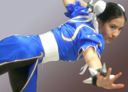 sexy asian chun li cosplay 04
