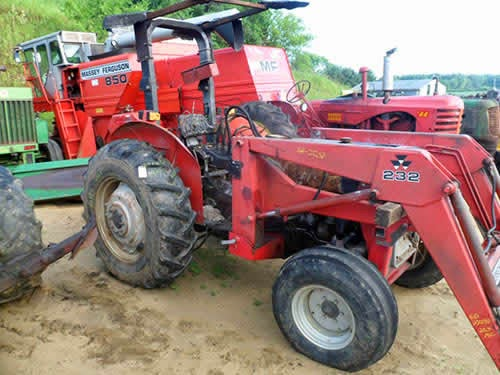 Used tractor parts for Massey Ferguson 253