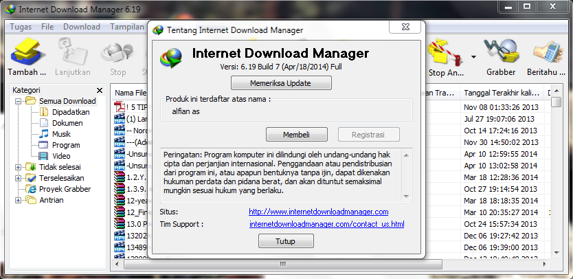 patch internet  manager terbaru