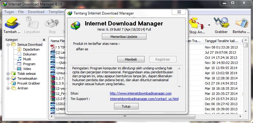 Download Internet Download Manager Terbaru 2014