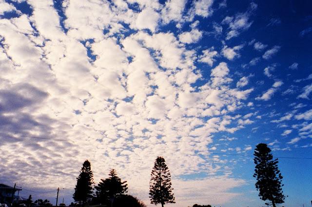 fujifilm natura classica film sky clouds