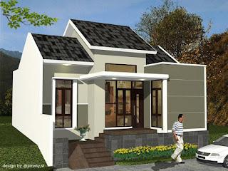 Gambar Desain Rumah Minimalis 1 Lantai Minimalis