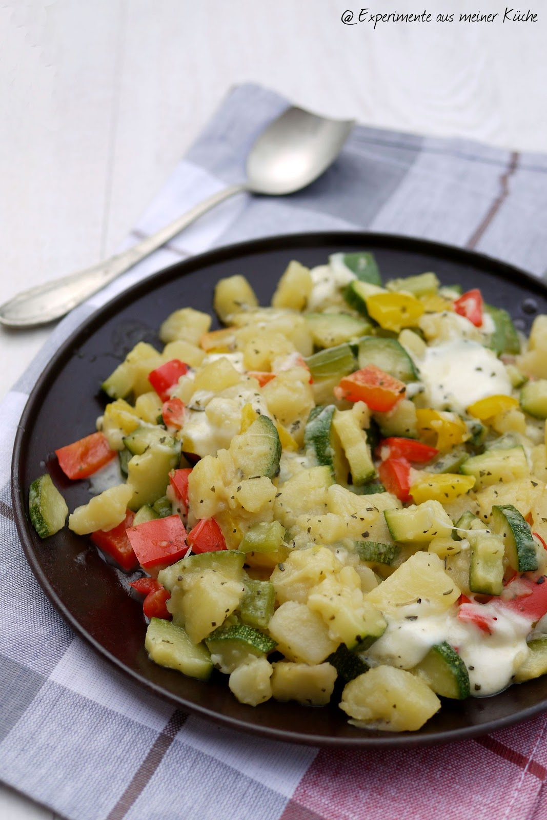 aus meiner Küche: Mediterrane Kartoffelpfanne